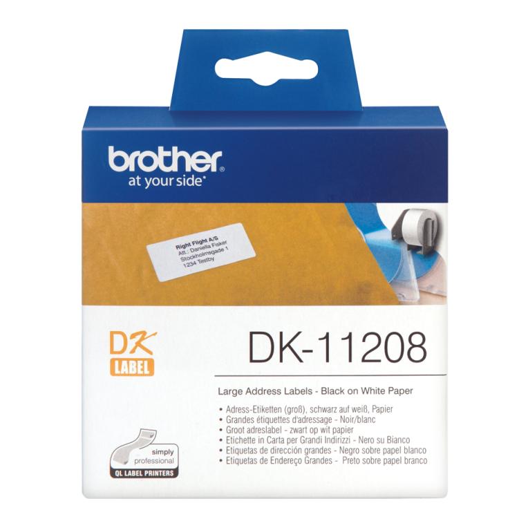 Cintas Para Impresoras De Etiquetas Etiquetas Brother De