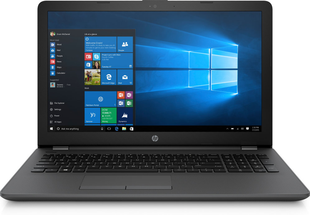 PORTATIL HP 250 G6 I3-6006U 4GB 500GB 15,6