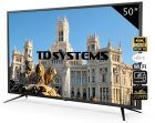 TV TD SYSTEMS K50DLJ10US 50  UHD 4K SMART ANDROID WIFI USB HDMI NEGRO
