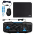 COMBO GAMING TECLADO RATON ALFOMBRILLA THE G-LAB BS-GKB-PACK/SP