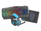 COMBO GAMING FURY THUNDERSTREAK TECLADO+RATON+AURIC+ALFOM