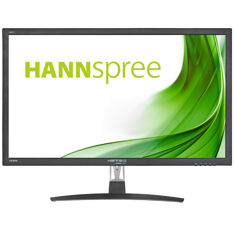 "Hanns G HQ272PPB  Monitor 27"""" LED 2K DVI HDM MM"