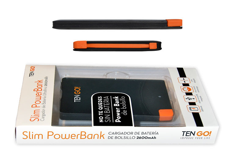Powerbanks TEN GO!